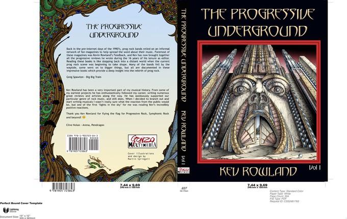 KEV ROLAND veröffentlicht Buch über PROG-ROCK-UNDERGROUND