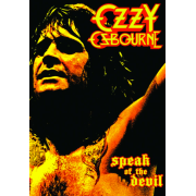 ozzy osbourne speak of the devil dvd review kritik album rezension heavy metal. Black Bedroom Furniture Sets. Home Design Ideas