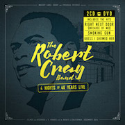 Robert Cray Band: 4 Nights Of 40 Years Live - 2CD/DVD