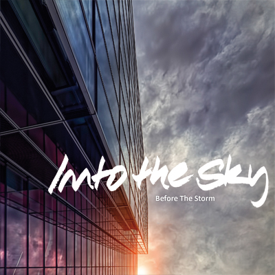 Into The Sky: Before The Storm – weiße Vinyl-Single