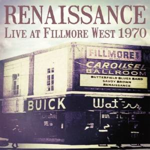 Renaissance: Live At Fillmore West 1970 - LP-Ausgabe