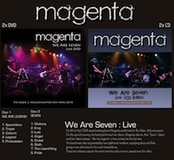DVD/Blu-ray-Review: Magenta - We Are Seven – The Robin 2, Wolverhampton 8th April 2018