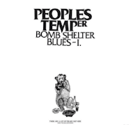 Review: Peoples Temper - Bomb Shelter Blues – I.