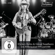 DVD/Blu-ray-Review: Dickey Betts & Great Southern - Live At Rockpalast 1978 And 2008