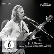 DVD/Blu-ray-Review: Jack Bruce - Live At Rockpalast 1980, 1983 And 1990