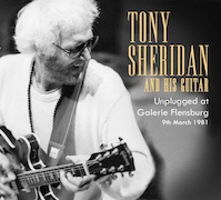 DVD/Blu-ray-Review: Tony Sheridan - Tony Sheridan And His Guitar - Unplugged At Galerie Flensburg