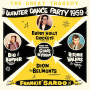 Various Artists: The Great Tragedy – Winter Dance Party 1959