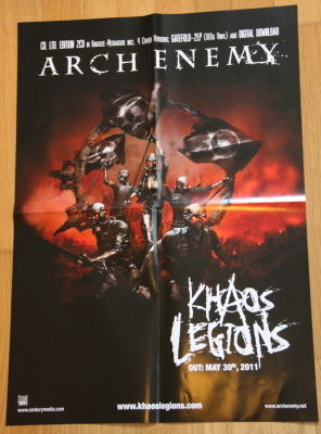 Arch Enemy Poster Verlosung