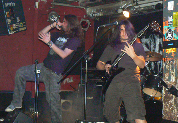 Exhumed Cephalic Carnage In Signum Live