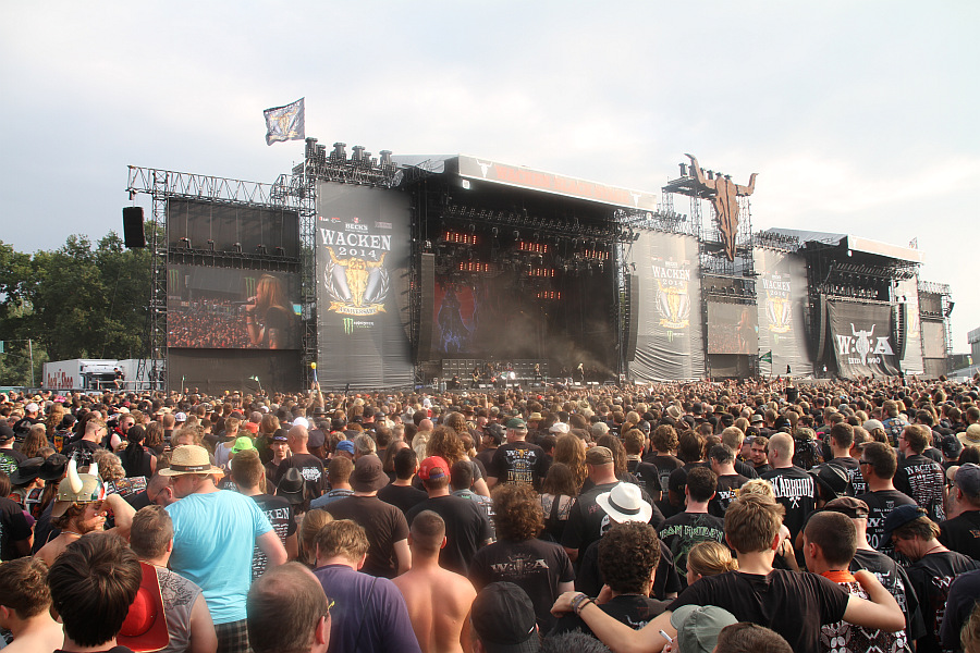 Wacken Open Air 2014 - Donnerstag Live